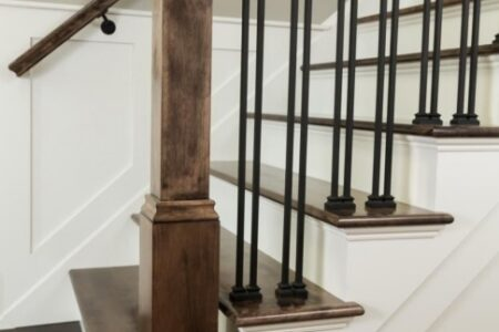 Metal Banister Rail