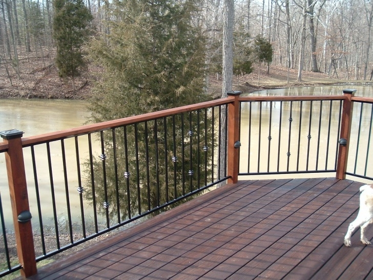 Insanely Metal Handrails For Decks Image 542