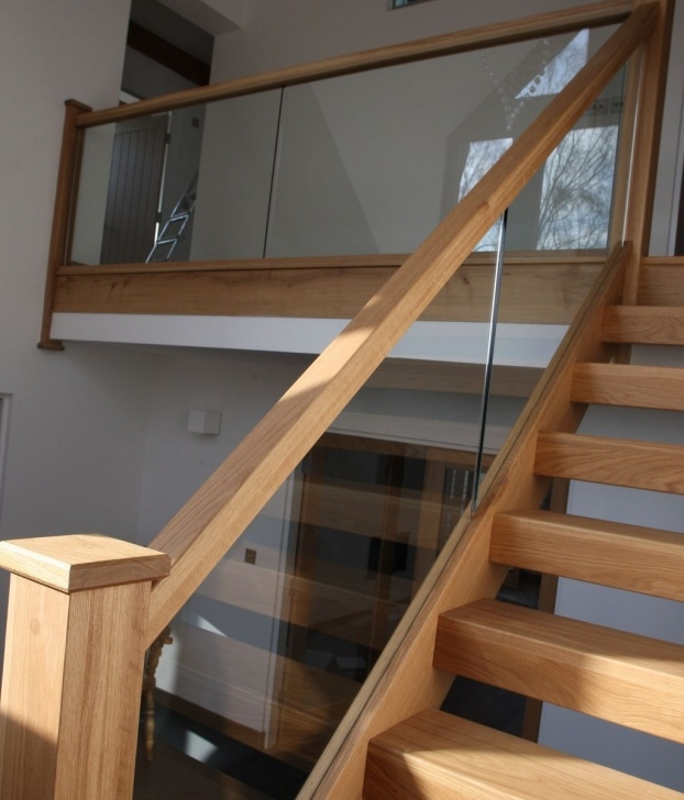 Insanely Oak Handrail For Glass Photo 508