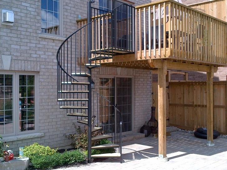 Insanely Outside Spiral Staircase Picture 762