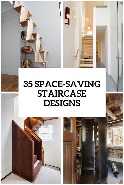 Insanely Short Space Stairs Design Picture 256
