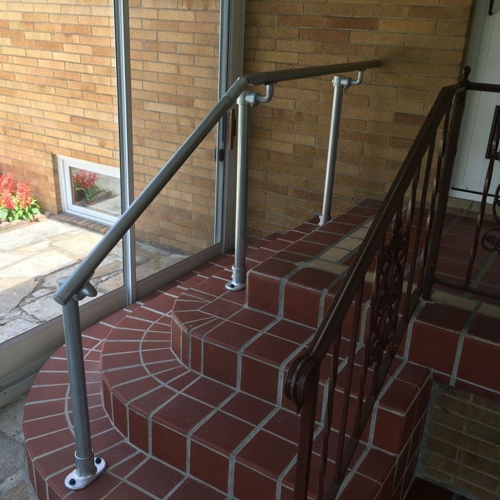 Insanely Stair Landing Railing Photo 885