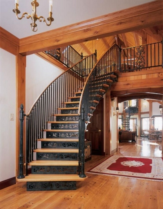 Insanely Victorian Spiral Staircase Photo 620