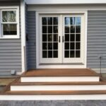 Insanely Wood Steps On Concrete Patio Photo 563