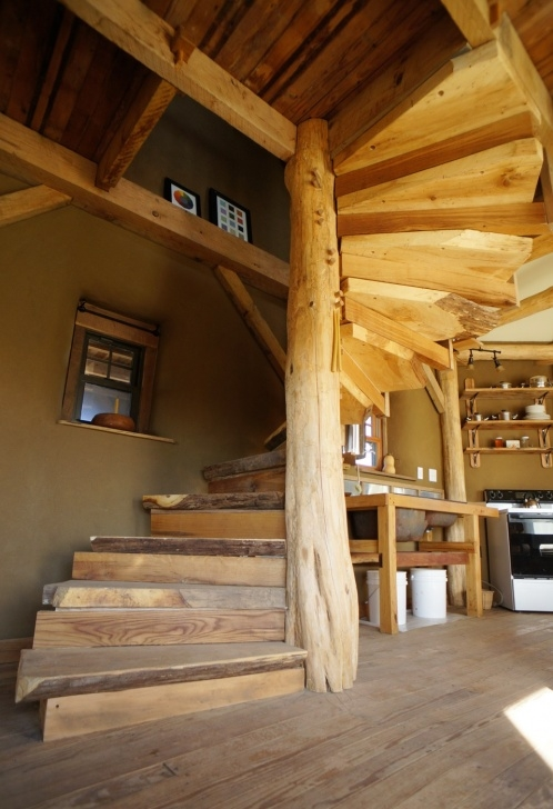 Insanely Wooden Spiral Staircase Picture 378