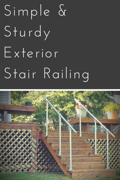 Inspiration Diy Outdoor Stair Railing Photo 436