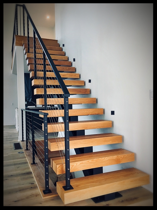 Inspiration Metal And Wood Stairs Picture 442