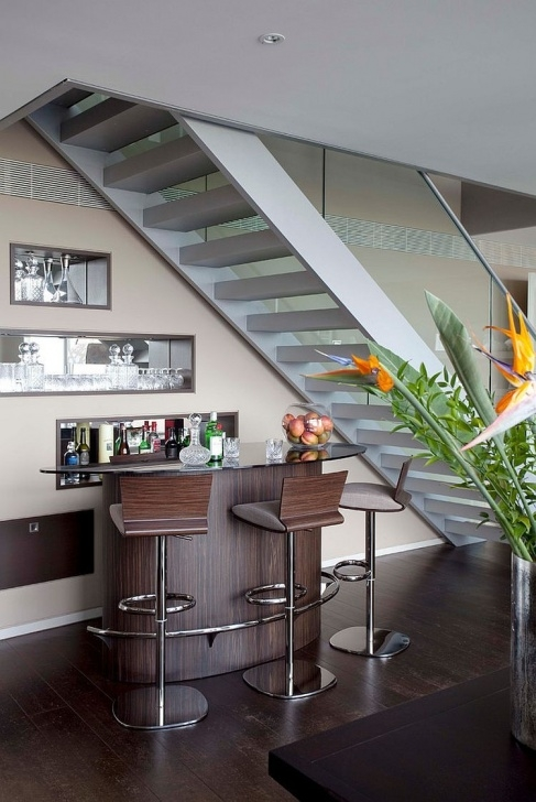 Inspiration Mini Bar Design Under The Stairs Picture 628