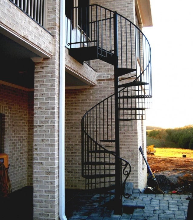 Inspiration Outdoor Spiral Staircase Image 960
