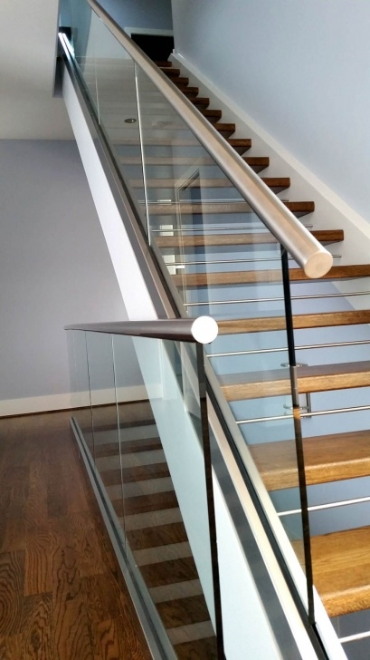 Inspiration Stainless Steel Staircase With Glass Designs Picture 830