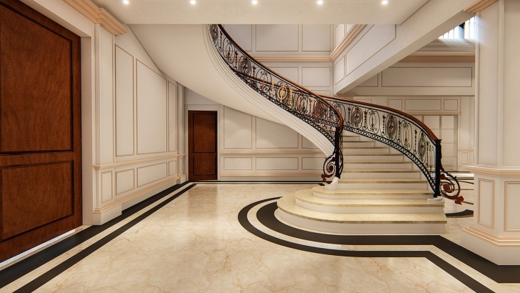 Inspiration Stairs Design In Lobby Image 407