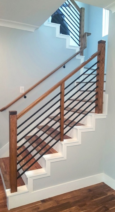 Inspiration Wooden Handrails For Stairs Interior Picture 296