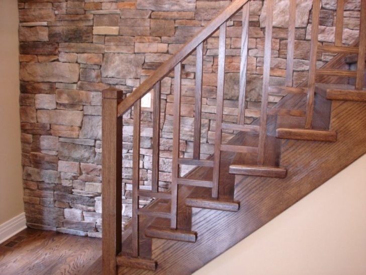 Inspiration Wooden Stair Railings Indoor Picture 834