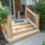 Inspiration Wooden Stairs Outside Picture 084
