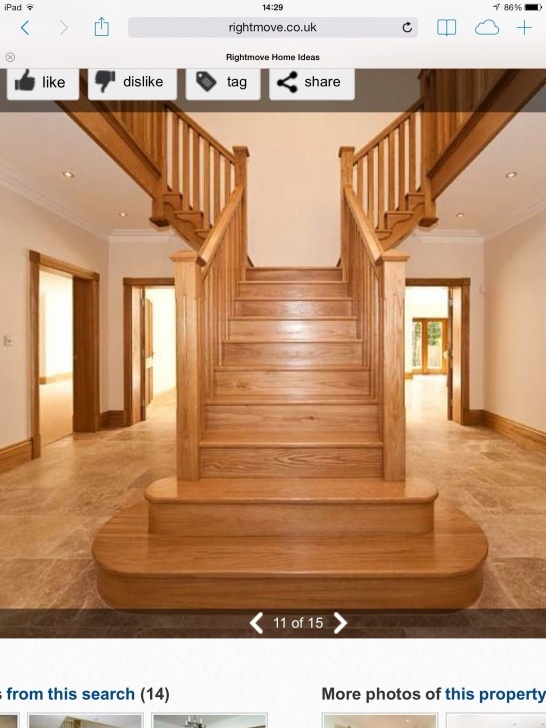 Inspirational Central Staircase Design Image 105