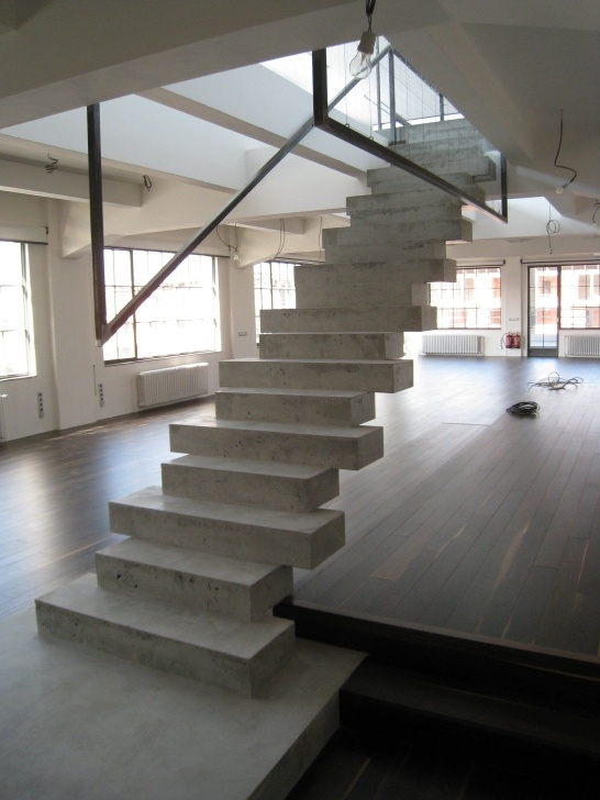 Inspirational Concrete Stairs Design Indoor Picture 157