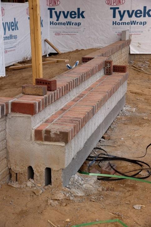 Inspirational Diy Brick Steps Outside Image 066