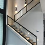 Inspirational Glass Stair Railings Interior Picture 048