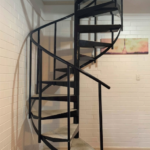 Inspirational Industrial Spiral Staircase Picture 720