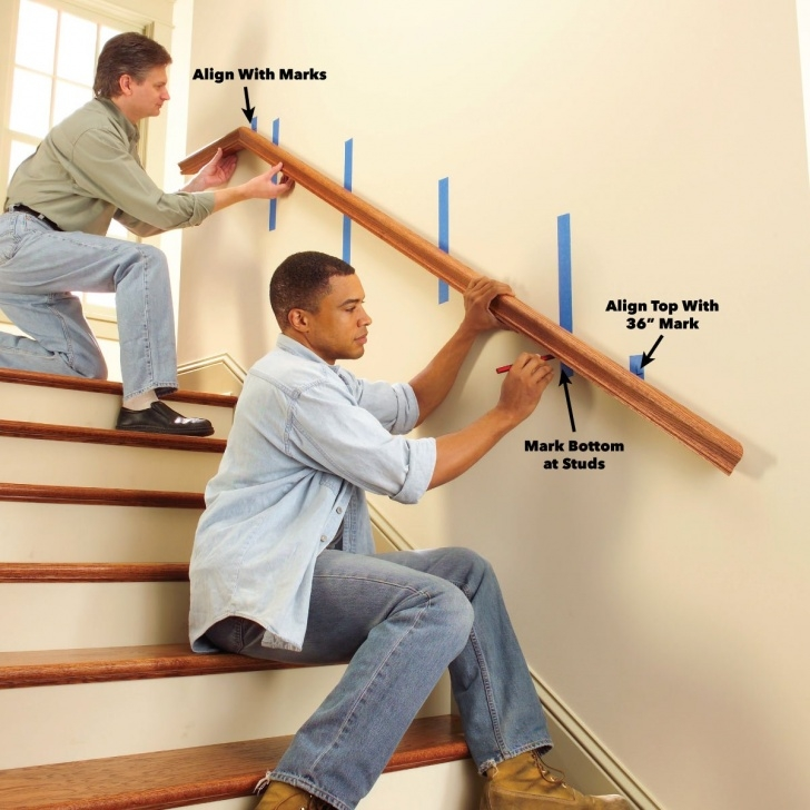 Inspirational Installing Stair Handrail Image 077