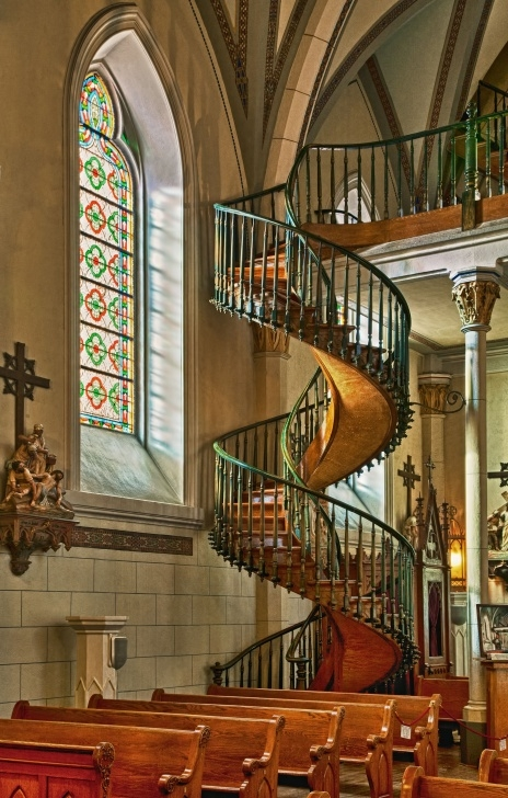 Inspirational Loretto Chapel Staircase Image 798
