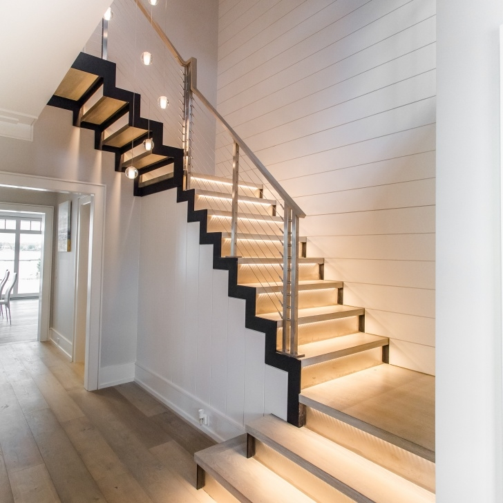 Inspirational Modern Floating Stairs Photo 196