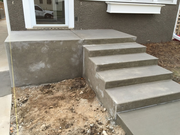 Inspirational Outdoor Concrete Stairs Photo 859