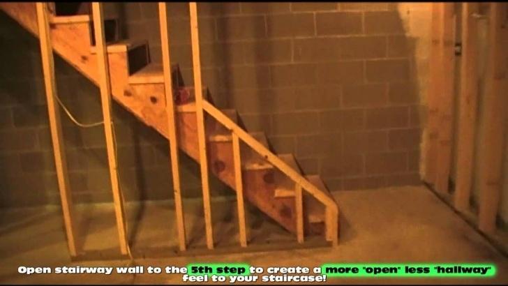 Inspirational Redoing Basement Stairs Photo 235