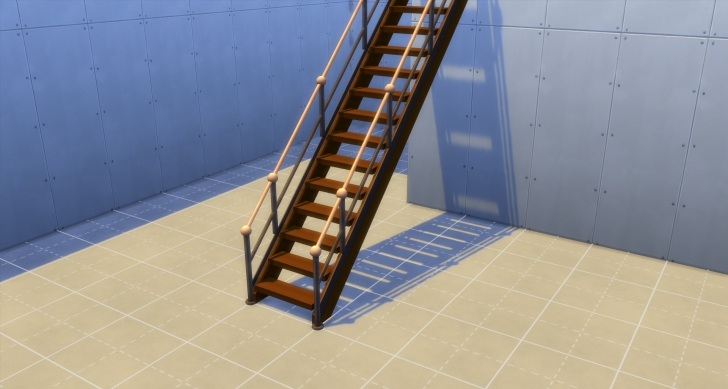 Inspirational Sims 4 Stair Railing One Side Picture 392