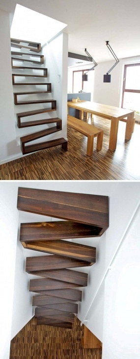Inspirational Stairs Design For Small Space Photo 264