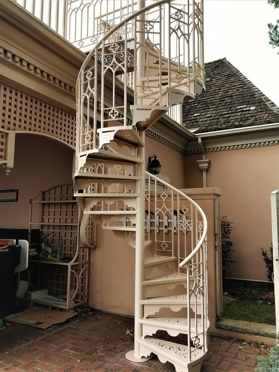 Inspirational Victorian Spiral Staircase Photo 762