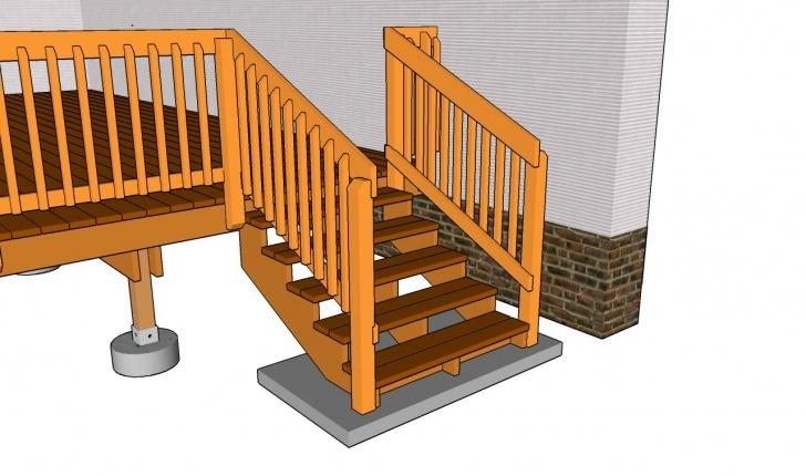 Inspirational Wood Deck Stair Railing Photo 115