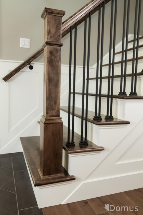 Inspiring Black Iron Stair Railing Photo 757