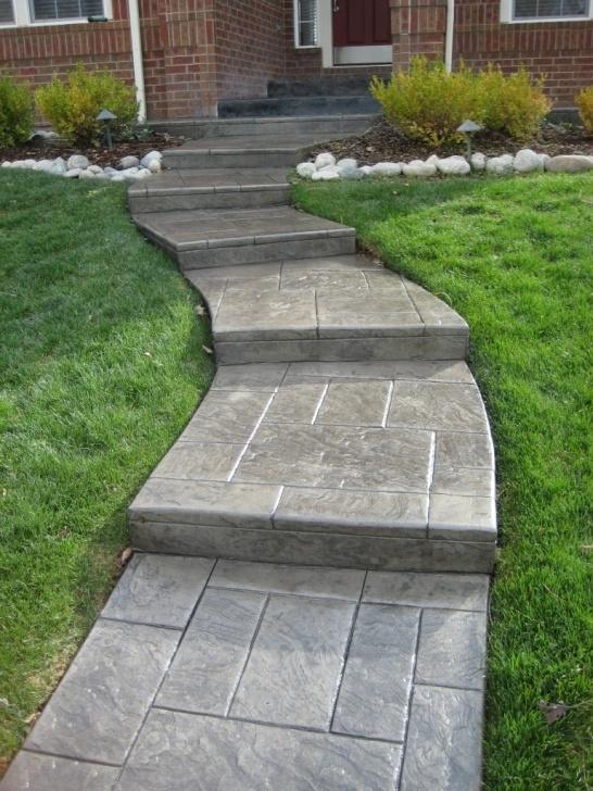 Inspiring Concrete Steps Design Image 245