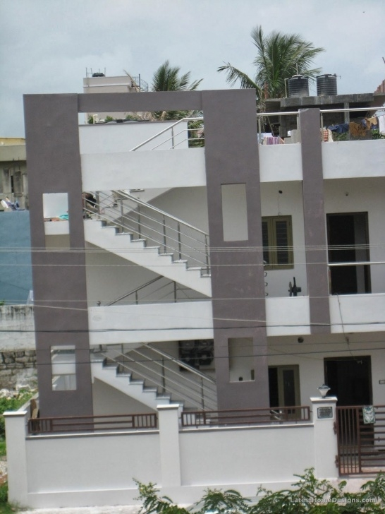 Inspiring Exterior Staircase Designs For Indian Homes Photo 108