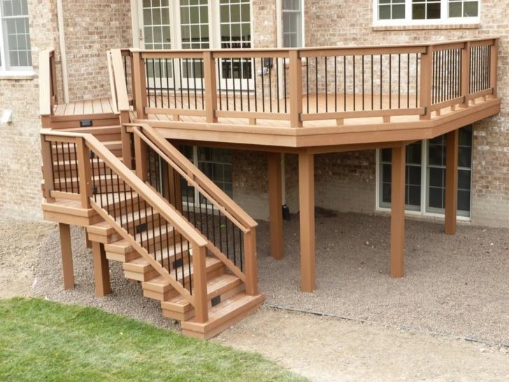 Inspiring Exterior Wood Handrail Image 959