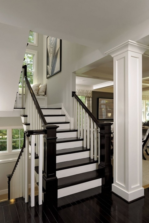 Inspiring Front Side Staircase Design Photo 367