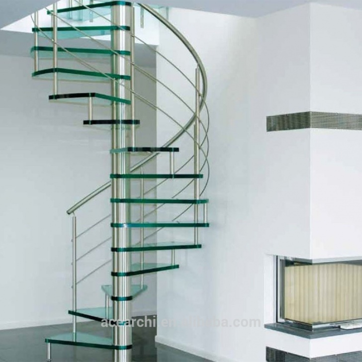 Inspiring Glass Spiral Staircase Picture 849