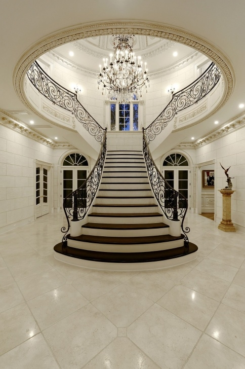 Inspiring Grand Staircase Design Photo 737