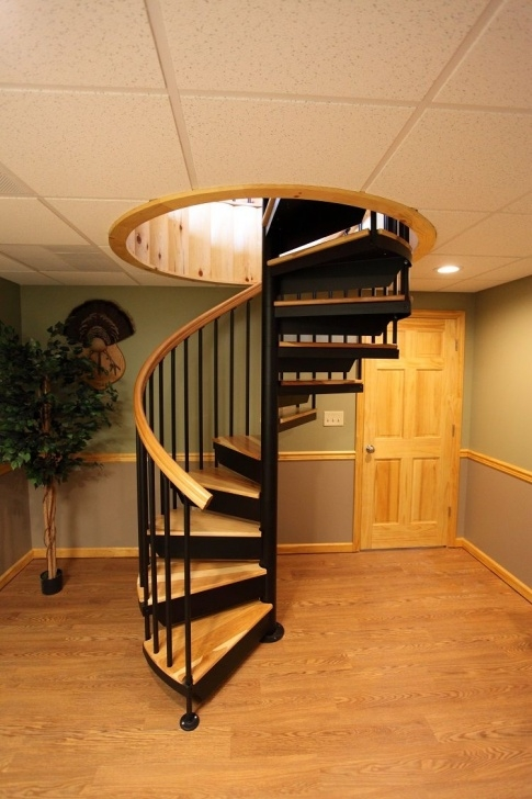 Inspiring Indoor Spiral Staircase Image 067