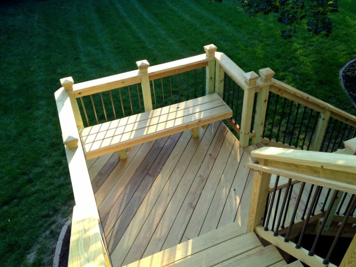 Inspiring Outdoor Deck Stairs Picture 817