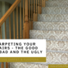 Polyester Carpet On Stairs