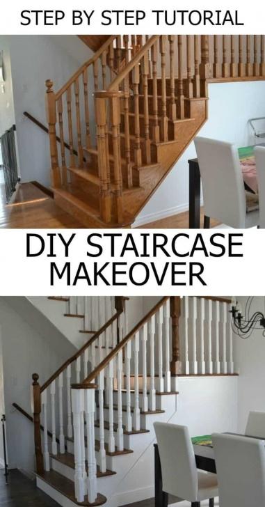 Inspiring Refinish Stair Railing Image 372