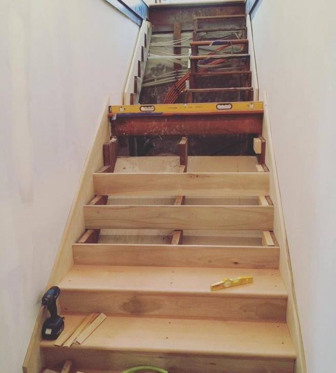 Inspiring Replacing Basement Stairs Photo 871