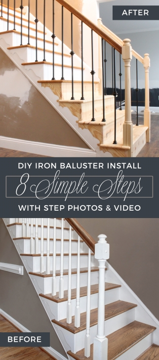 Inspiring Replacing Stair Balusters Picture 594