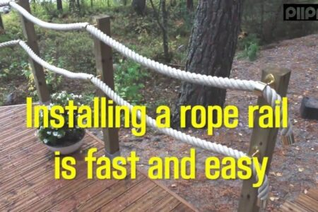 Rope Handrail Outdoor