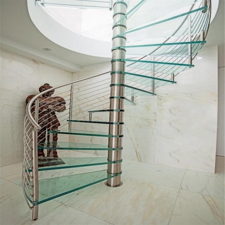Inspiring Spiral Railing Design Photo 805