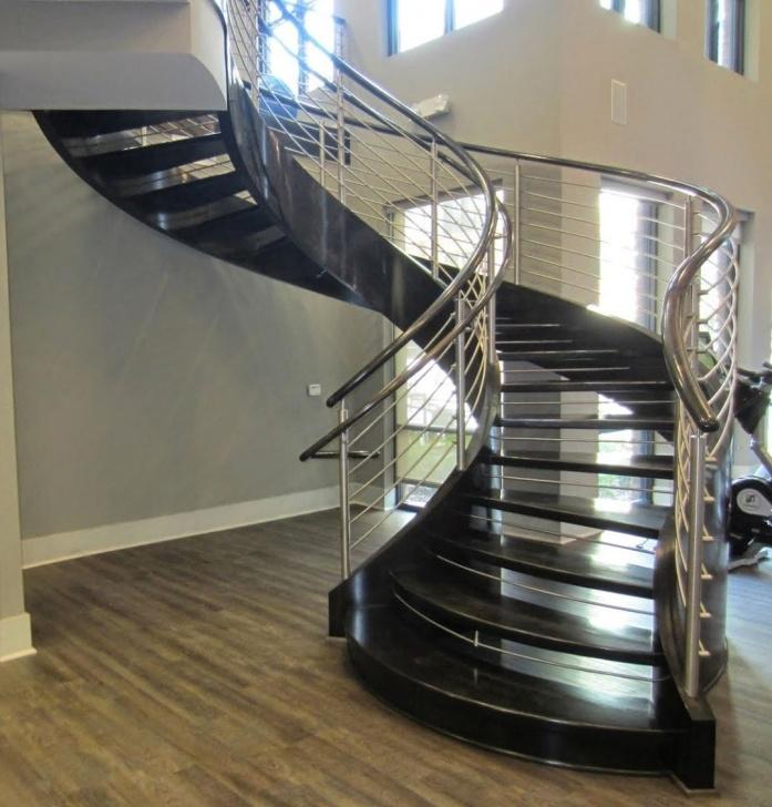 Inspiring Spiral Railing Design Photo 878