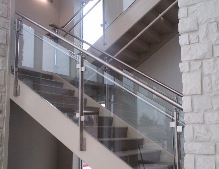 Inspiring Stair Glass Handrail Photo 412