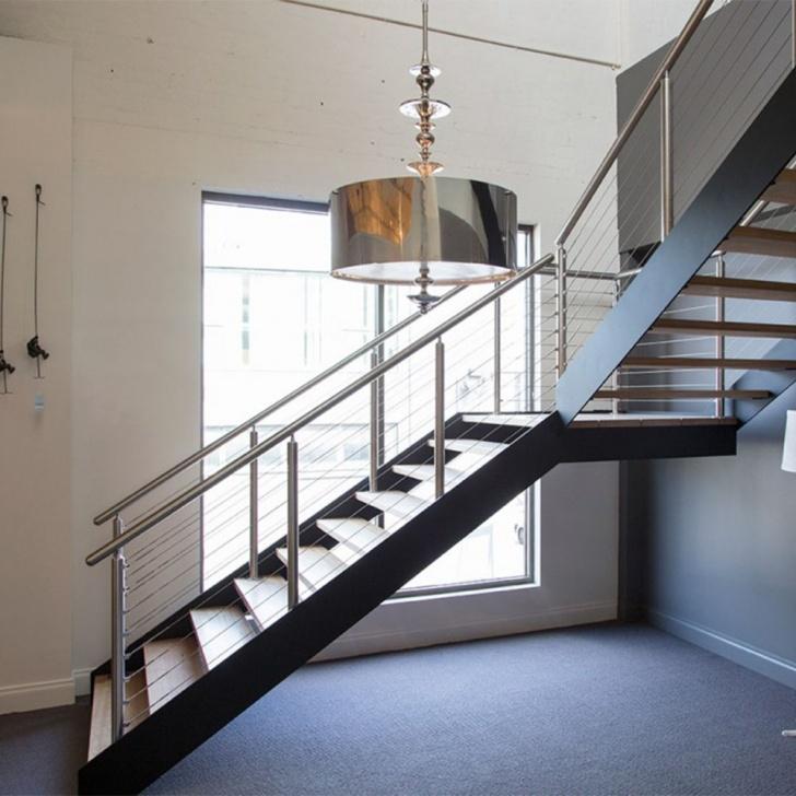 Inspiring Tubular Stairs Design Image 574